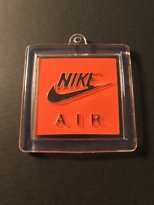 Nike Air Original Vintage Retro Keychain Hang Tag Rubber Shoe Tag Jordan