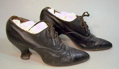 Great Antique Leather Ladies' Shoes--c. 1920?