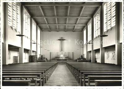12578069 Amriswil TG Kath Kirche Inneres Amriswil