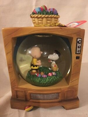 Westland Giftware Peanuts TV Classics It's The Easter Beagle Charlie Brown #8185
