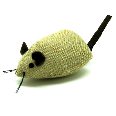 Large Tough Rosewood Catnip Mouse Mice Contains natural North American Catnip