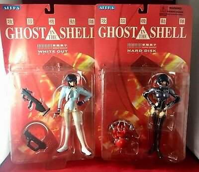 Ghost In A Shell White Out & Hard Disk Figures