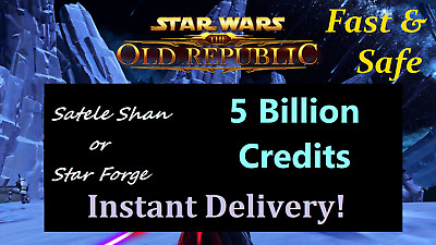SWTOR 200 Million Credits -NA Server - Star Wars The Old Republic -200m Mail
