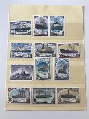 Postage Stamps World Mix - Ships/Transportation Theme Mint