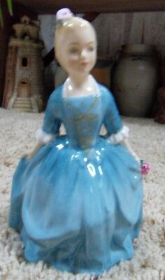 1963 Williamsburg Royal Doulton A Child from Williamsburg Figurine HN2154