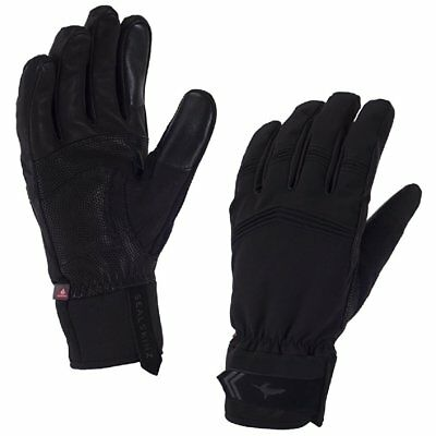 Sealskinz Performance Activity Mens Gloves - Black Anthracite All Sizes