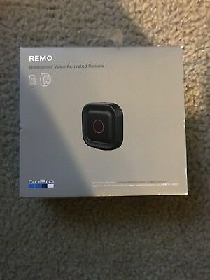 Gopro Remo Waterproof Voice Activated Remote Brand New In Box L@@@@@k Free Ship
