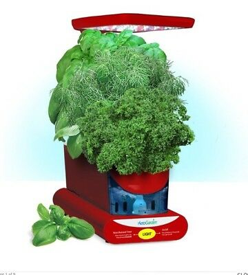 Miracle-Gro AeroGarden Sprout LED With Gourmet Herbs Seed Sprout Kit