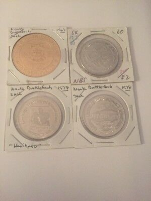 Canada Trade Dollars Tokens Mixed Lot Of 4 #560