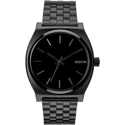 Nixon Time Teller Homme Montre - All Black Une Taille