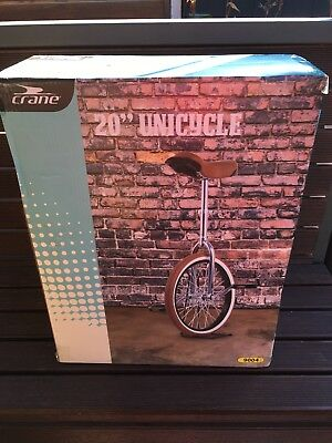 20 inch crane unicycle in box with parking stand