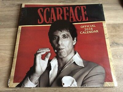 Scarface Official 2016 Calendar Sealed Movie Memorabilia Rare Cheap Aus