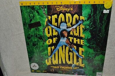 Laserdisc George of the Jungle Widescreen Edition