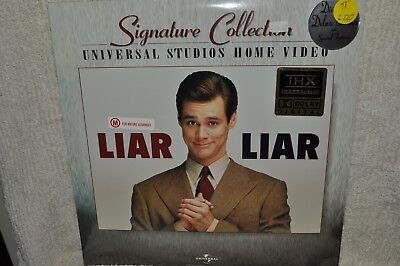 Laserdisc Liar Liar Signature Collection