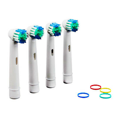 Dual Clean Electric Toothbrush Only Heads Replacement For Braun Oral B