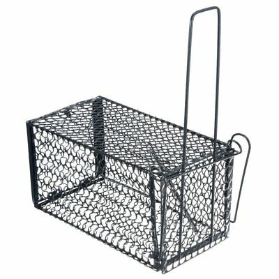 Rat Catcher Spring Cage Trap Humane Live Mouse Rodent Bait Pest Control Outdo YE