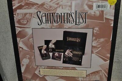 Laserdisc Schindlers List Limited Edition Collectors Boxed Set