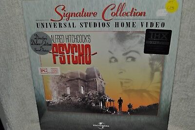 Laserdisc Psycho Signature Collection  Director's Deluxe Edition