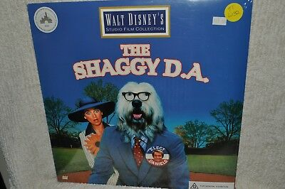 Laserdisc The Shaggy D. A. Walt Disney Studio Film Collection