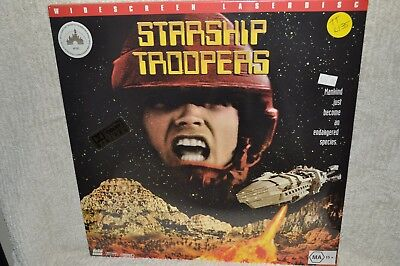 Laserdisc Starship Troopers Widescreen Edition