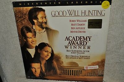 Laserdisc Good Will Hunting Widescreen Edition