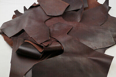 Veg tan 1Kg Tooling/Stamping Leather scrap pieces Vegetable tanned Hand or large