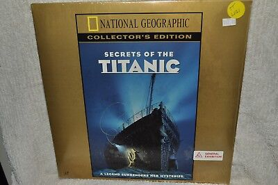 Laserdisc Secrets of the Titanic Collector's Edition