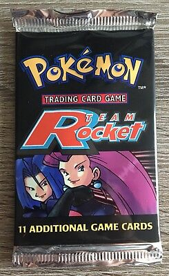 Pokemon-Sammelkarten OVP Booster Team Rocket Edition 1. Stück