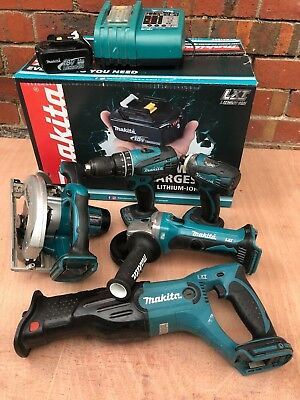 MAKITA LXT 18V 6 PIECE COMBO & 3Ah BATTERY - Send a message to confirm postage $