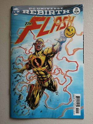 THE FLASH #21 - LENTICULAR COVER  1st PRINT