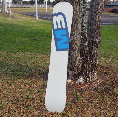 M3 Millenium Three Freestyle Snowboard Made in USA 160cm Used