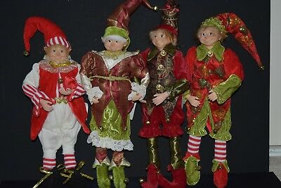 4x Elf Dolls , 46cm Tall