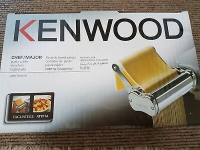 Kenwood Tagliatelle Metal Pasta Cutter AT971A - attachment for Chef/ Major