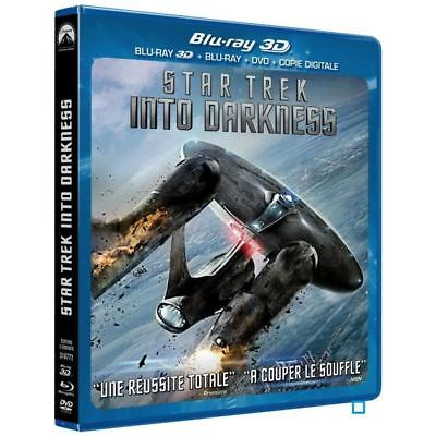 Blu Ray 3D + 2D + DVD : Star Trek Into Darkness + Version 2D - NEUF