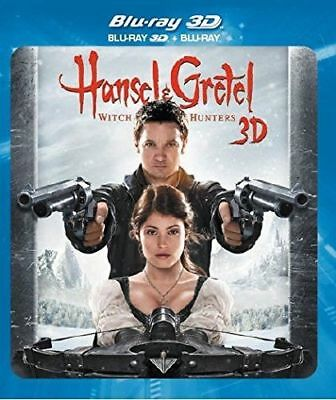 Blu Ray 3D + 2D + DVD : Hansel & Gretel Witch Hunters + Version 2D - NEUF