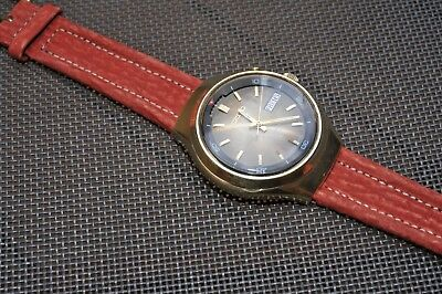 Vintage SEIKO BELL MATIC DAY/DATE ALARM Automatik Gold plated Hi beat 4006 6060