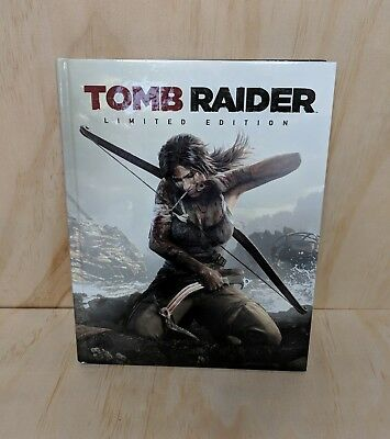 Tomb Raider Limited Edition Hardcover Big Picture Guide Book