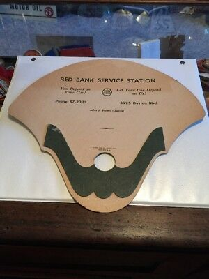 Vintage Cities Service Gas Oil Advertising Fan Giveaway From Tennessee