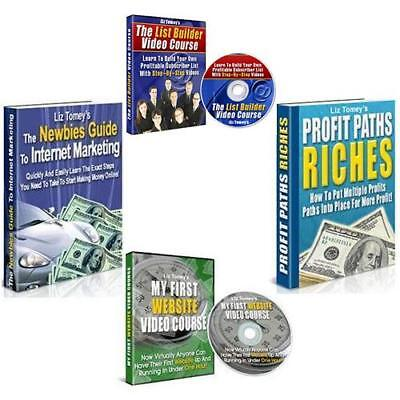 [$1] 4 PLR Private Label Rights Products! INSTANT EBOOK BUSINESS w/Sales Tools!