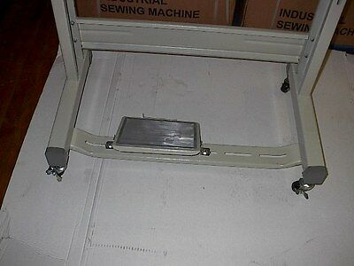 Sewline  New Complete Rolling T Leg  With Casters For Industrial Sewing Machine