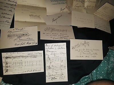 signed autograph collection 60x to cuba cuban king president music painter 61x