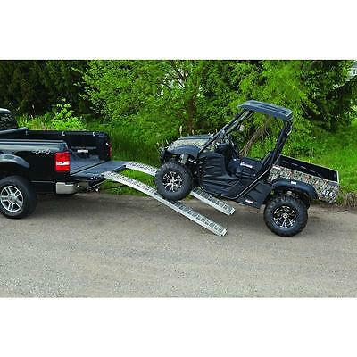 Atv Truck Ramps >> Ramps Loading Atv Motorcycle Aluminum Race Truck Portable Four