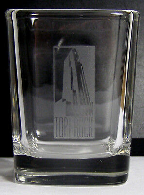 Top Of The Rock Square Shot Glass #3230