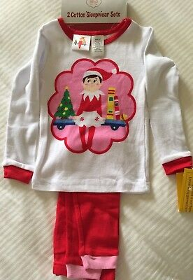 0656874d7 NWT-TODDLER GIRLS THE Elf on the Shelf Pink 2 Pc Christmas Winter ...