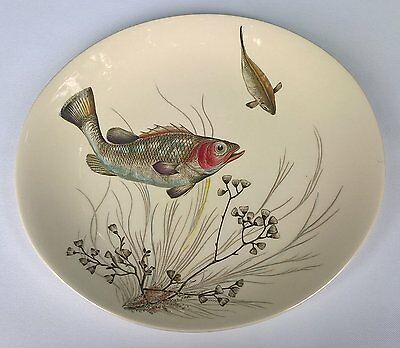 """Vintage Johnson Bros. Oval """"Fish"""" Series Plate Design No.2 Discontinued"""