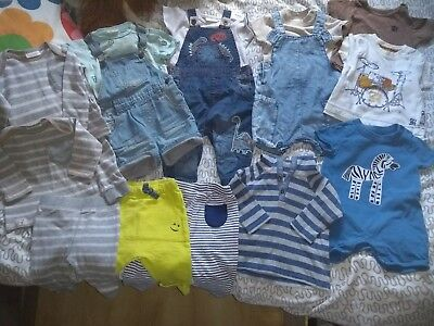Baby boys clothes 3-6 months bundle Next Zara leggings tops dungarees