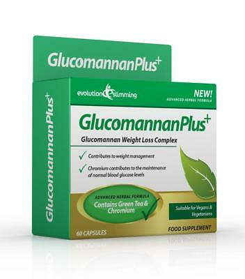 Glucomannan Plus Konjac Coupe-Faim 60 Capsules evolution slimming