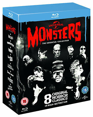 UNIVERSAL CLASSIC MONSTERS [Blu-ray Box Set] The Essential 8-Movie Collection