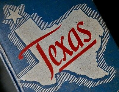 Texas the Story of the LONE STAR STATE Goliad TX School History Book 1949