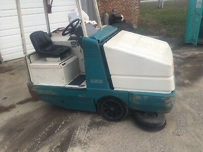 355 used industrial shop sweeper